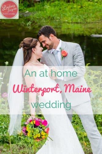 Winterport Wedding