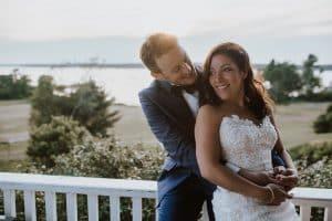 Chebeague Island Bride and Groom