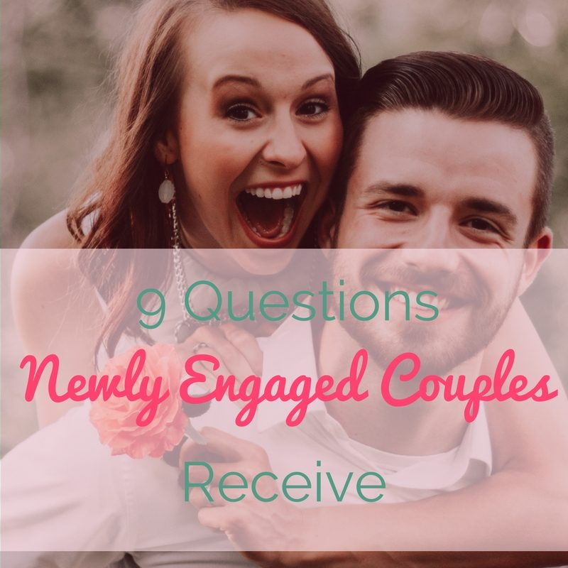 Questions Engaged Couples Receive