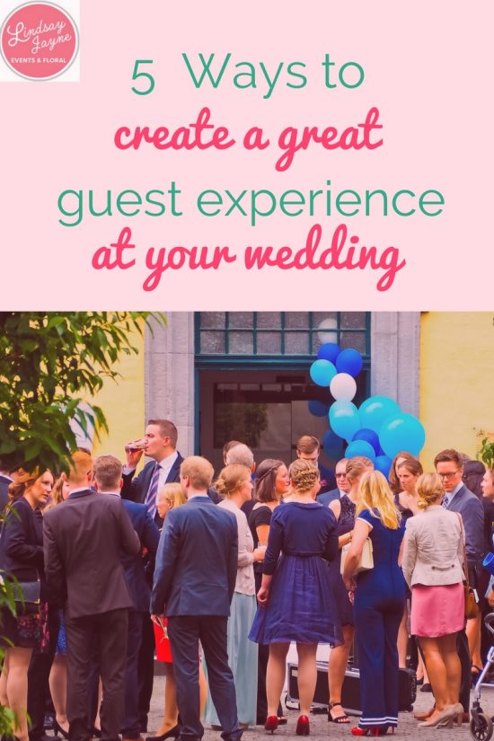 5 ways to create a great guest experience at your maine wedding