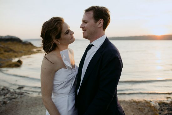a coastal Maine wedding in Harpswell